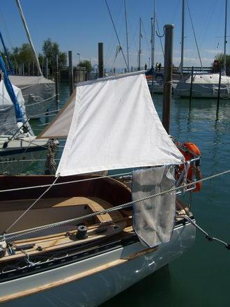 Boots Sonnensegel Sonnenschutz Boote Bootsbeschattung