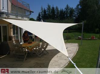 sonnensegel terrasse terrassenbeschattung mit sonnensegel. Black Bedroom Furniture Sets. Home Design Ideas