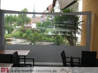 Windschutz Mit Sonnensegel Garten Balkon Terrasse